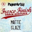 PaperArtsy Fresco Finish Chalk Acrylics 50ml - Matte Glaze