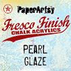 PaperArtsy Fresco Finish Chalk Acrylics 50ml - Pearl Glaze