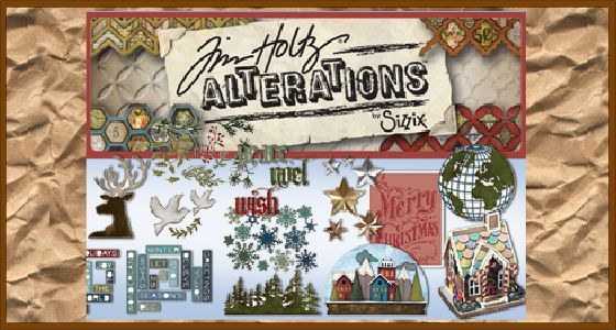 Tim Holtz - Sizzix Alterations
