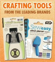 A large range of Crafting Tools to aid you with your crafting!