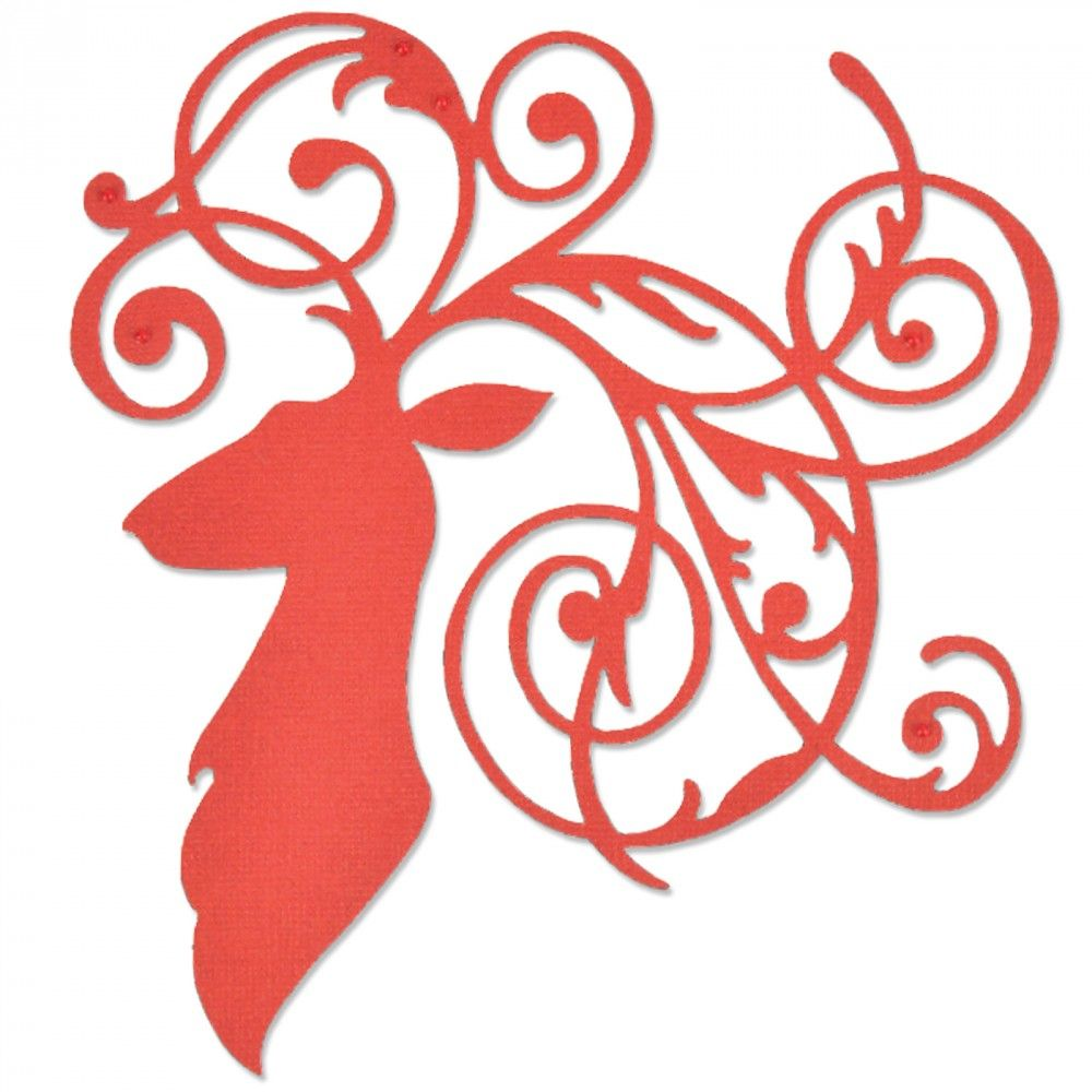 Image result for sizzix elegant deer 661300\