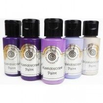 Cosmic Shimmer - Kaleidoscope Paint Set - Purple Passion