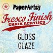 PaperArtsy Fresco Finish - Gloss Glaze