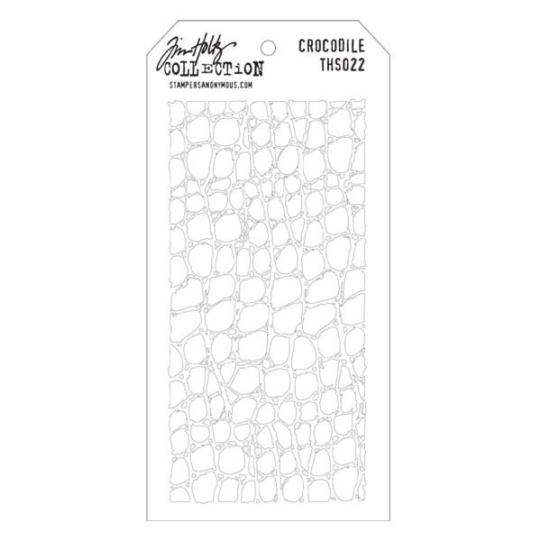 Honeycomb Stampers Anonymous Tim Holtz Layered Stencil 4.125 by 8.5-Inch